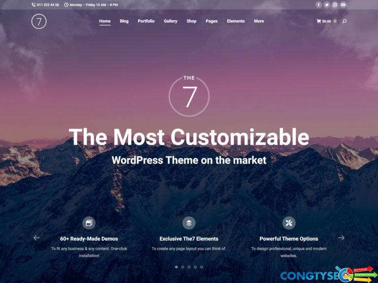 The7 Multipurpose WordPress Theme 2 768x576 1